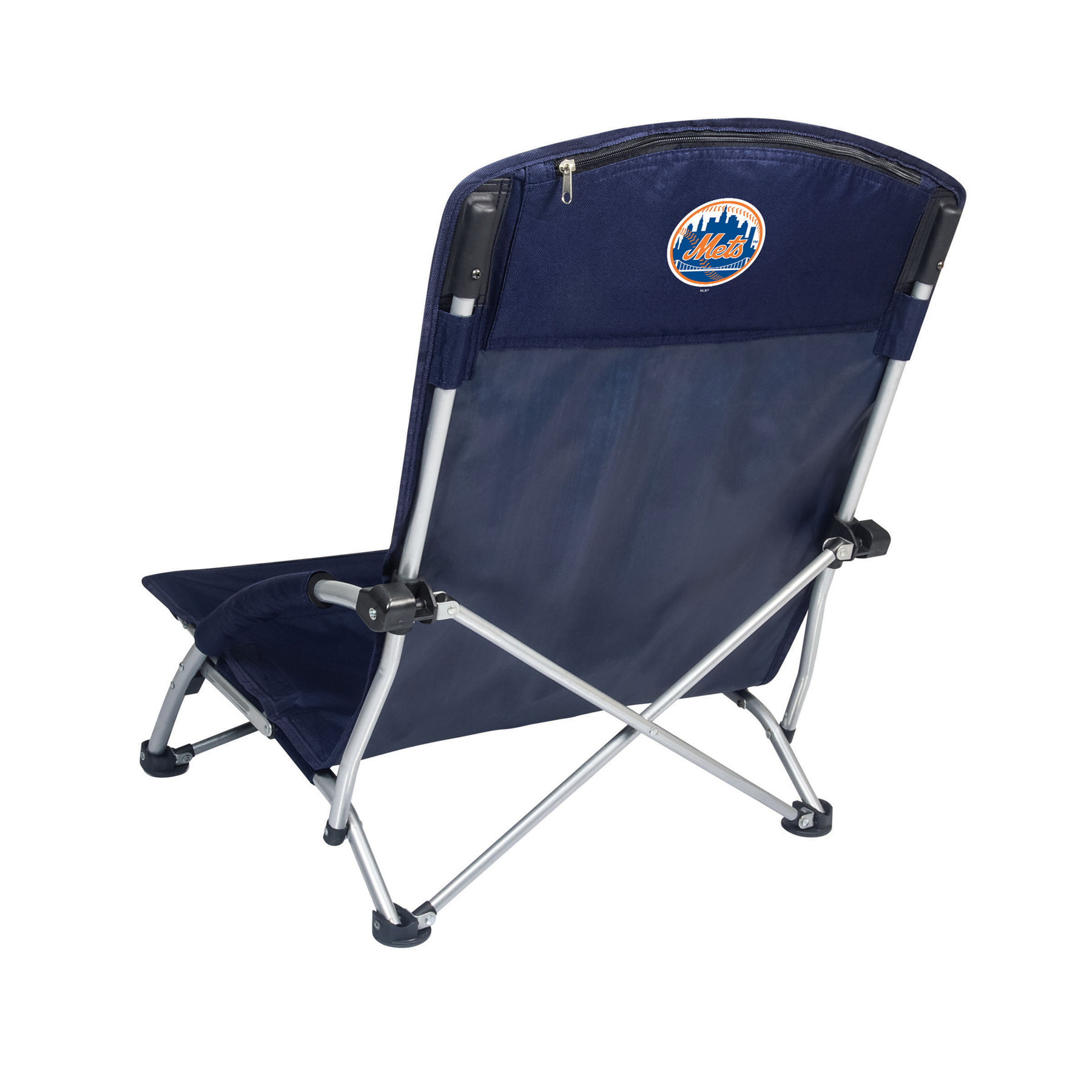 Picnic Time Tranquility Chair - MLB - Navy/Slate