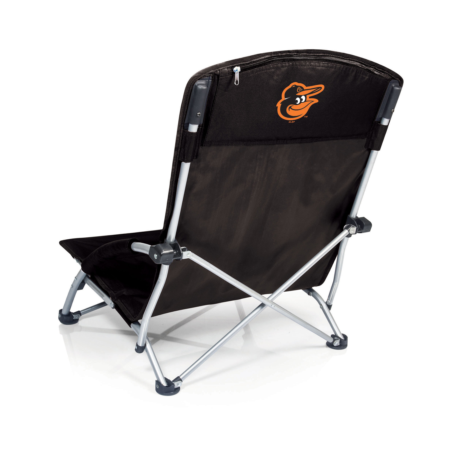 Picnic Time Tranquility Chair - MLB - Black