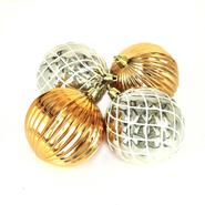 Sandra by Sandra Lee Glided Gatherings Shatterproof Christmas Ornaments, 4 Ct. at Kmart.com