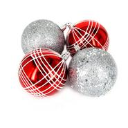 Sandra by Sandra Lee Merry Holiday Shatterproof Ornament Pack, 4 ct. at Kmart.com
