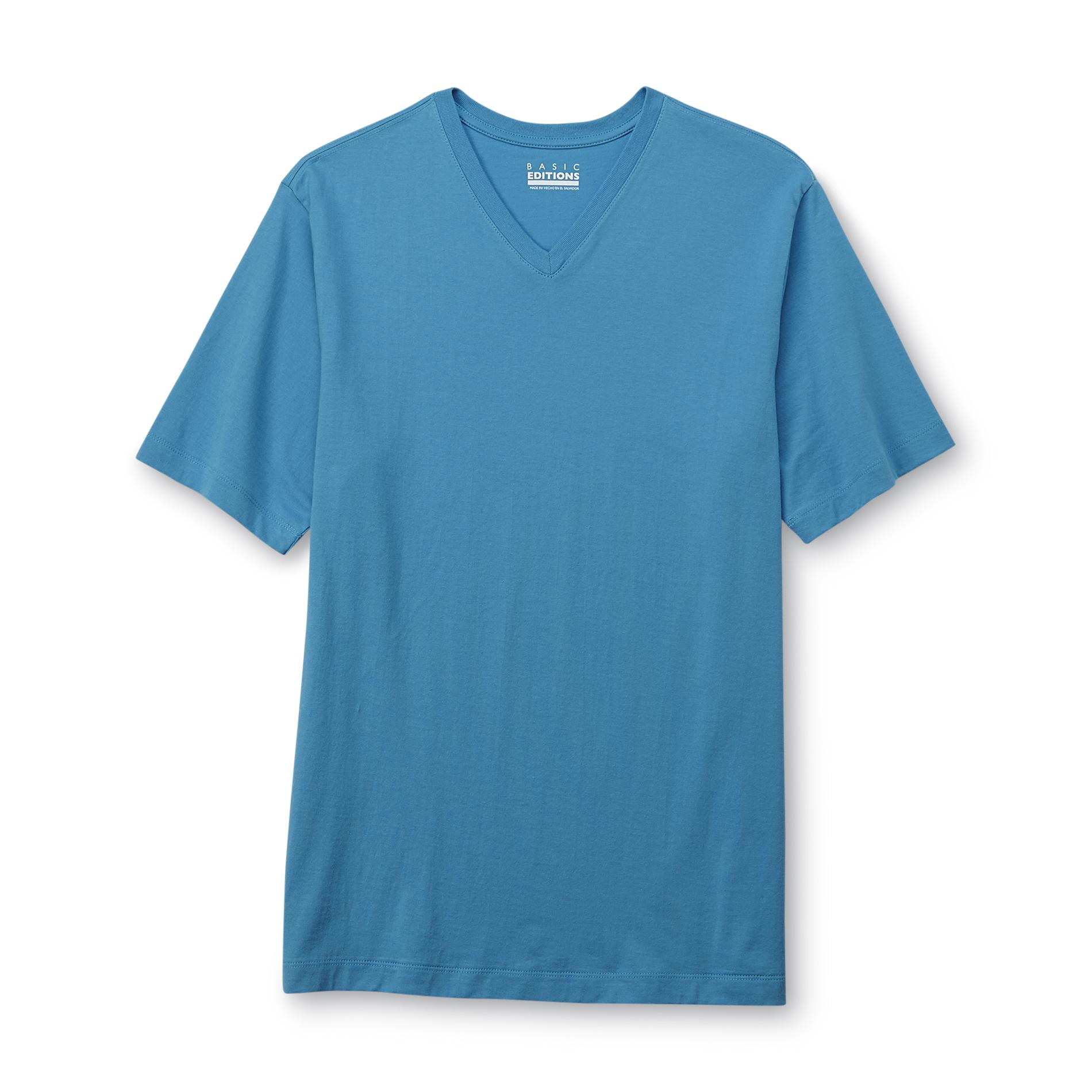 Basic Editions Men's V-Neck T-Shirt