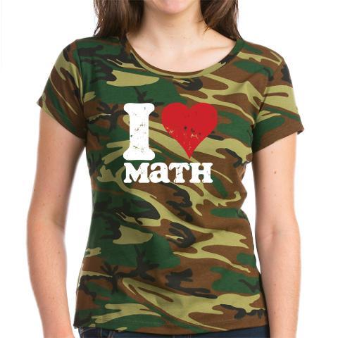 CafePress I Love Math Women's T-Shirt Online Exclusive at Kmart.com