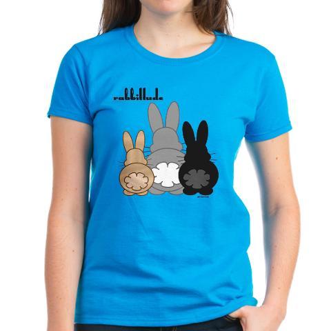 CafePress Rabbittude Posse Women's T-Shirt Online Exclusive at Kmart.com