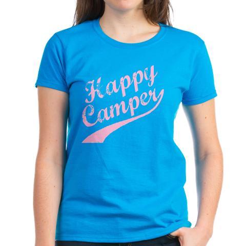 CafePress HAPPY CAMPER Women's T-Shirt Online Exclusive at Kmart.com