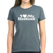 CafePress I Love My Husband Women's T-Shirt Online Exclusive at Kmart.com