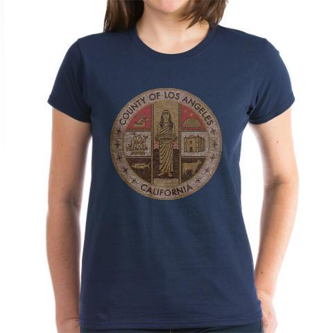CafePress Vintage Los Angeles County Women's T-Shirt Online Exclusive at Kmart.com