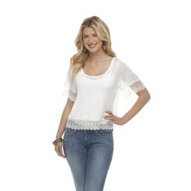 Mascara Women's Short-Sleeve Crop Top at Sears.com