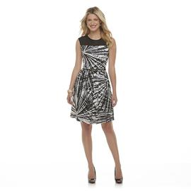 Studio 1 Women's Sleeveless Dress - Abstract Print at Sears.com