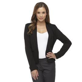 Attention Women's Textured Tuxedo-Style Ponte Knit Jacket at Kmart.com