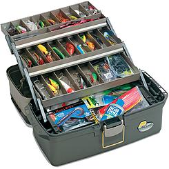 Plano Moulding 1001-03 Green Tackle Box