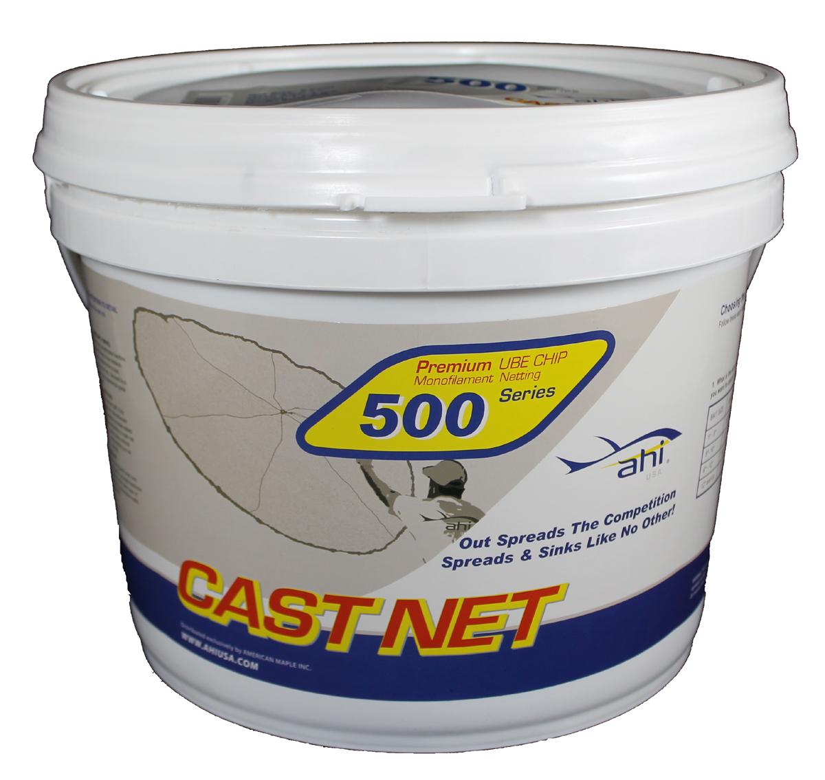 Ahi USA Ahi USA 500 Pro Series Cast Net - 9' PartNumber: 00690911000P KsnValue: 8941690 MfgPartNumber: CN-509