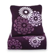 Cannon Microplush Pillow & Throw Set - Floral at Kmart.com