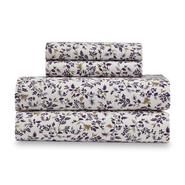 Cannon 4-Piece Flannel Sheet Set - Leaves at Kmart.com