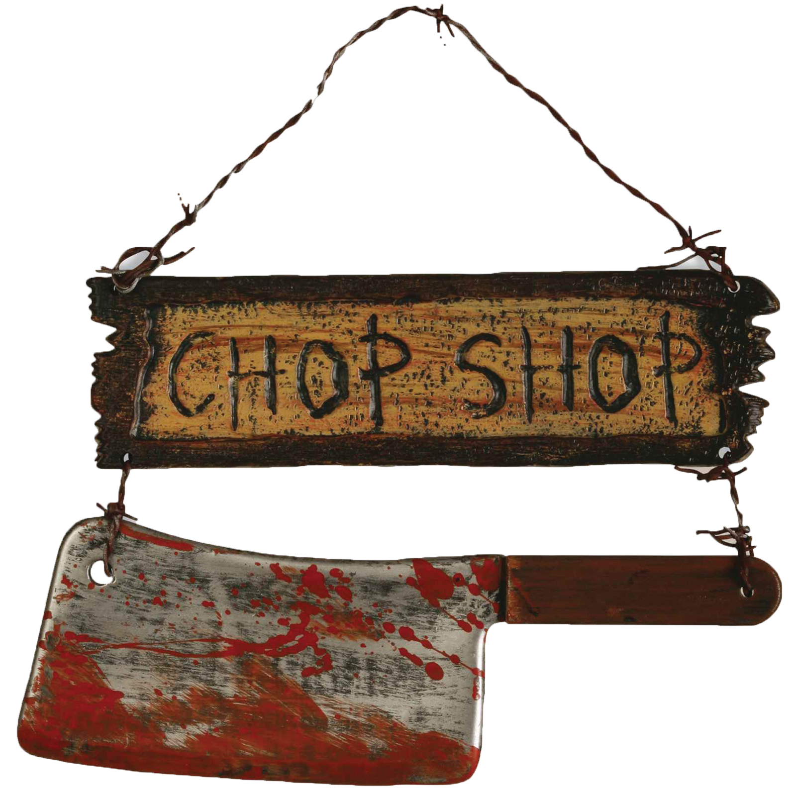 Morris Costumes Chop Shop Sign PartNumber: 05029905000P