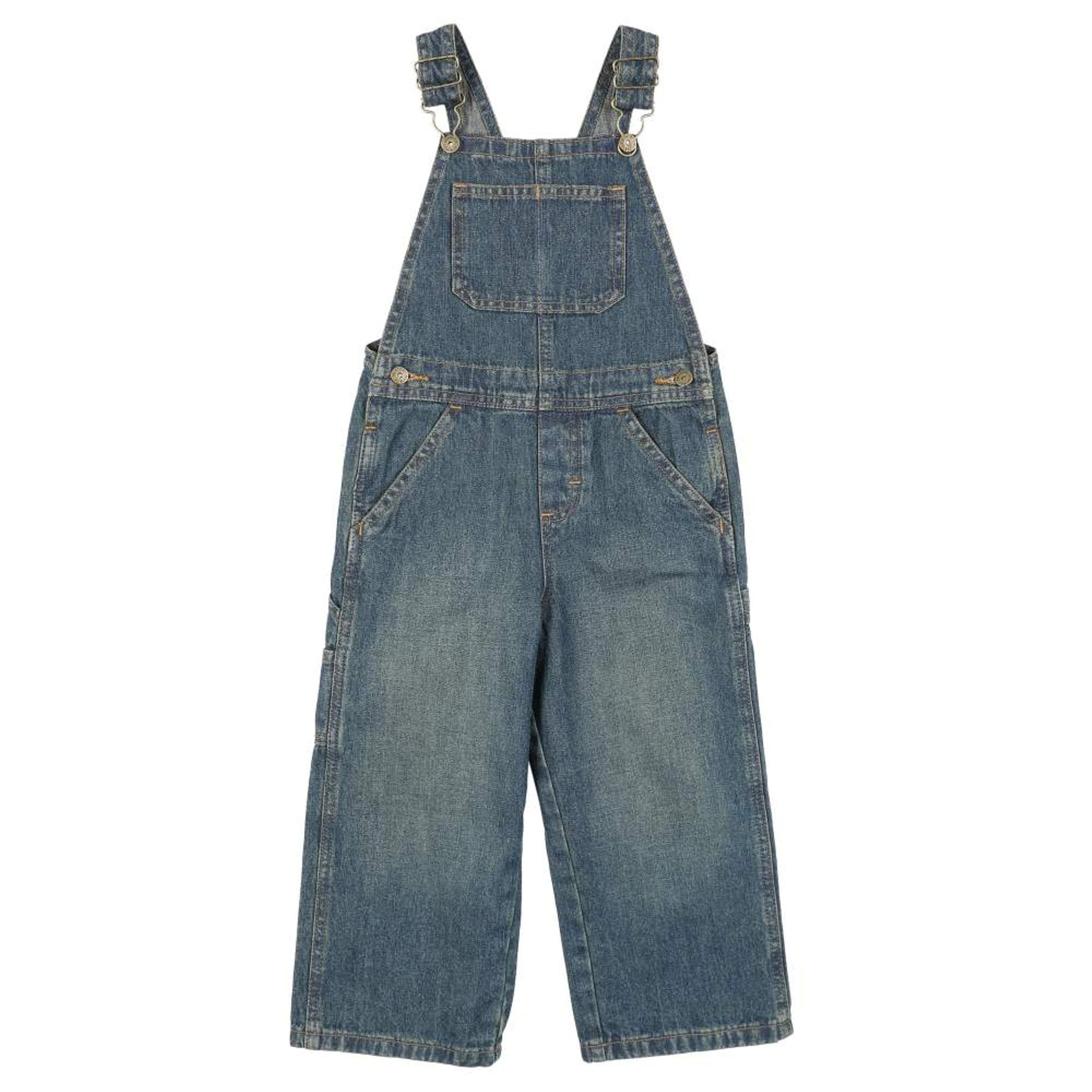 22f176e73616 Wrangler Infant Boy s Floyd Denim Overalls