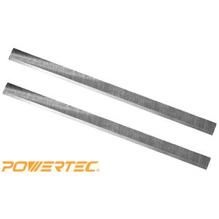 Powertec 128100 12-Inch Planer Knives for Delta 22-540, HSS, Set of 2