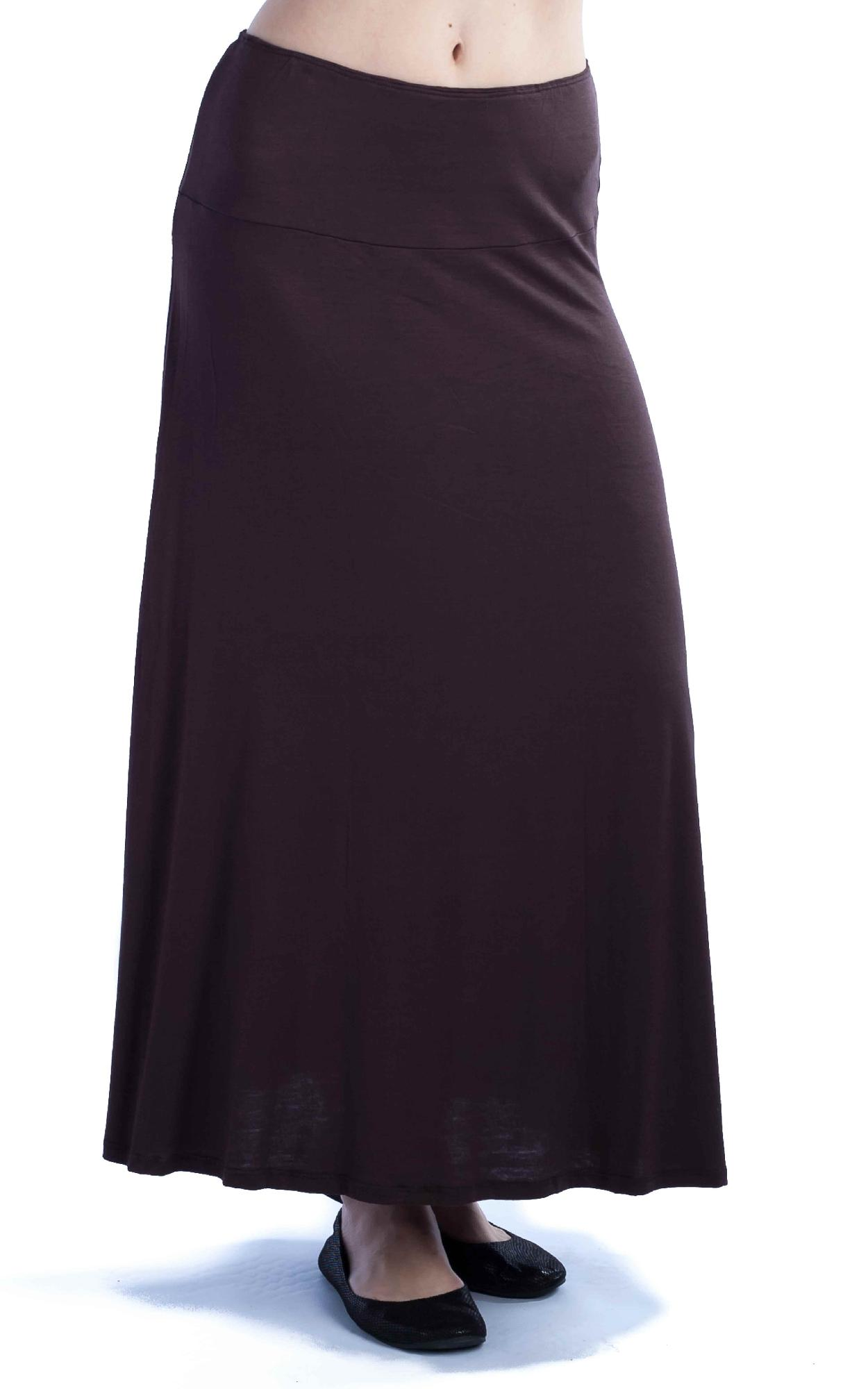 24/7 Comfort Apparel Women's Maxi Skirt at Sears.com