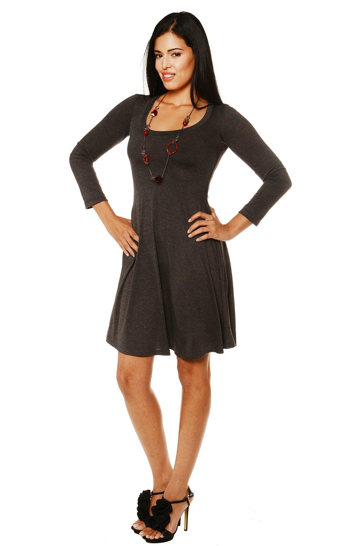 24/7 Comfort Apparel Women's Long-sleeve Dress at Sears.com