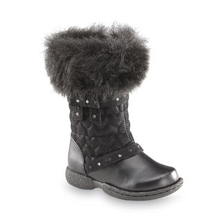 Canyon River Blues Toddler Girl's Fiona Fashion Boot - Black