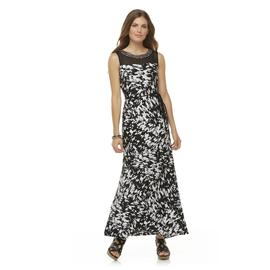 Studio 1 Women's Sleeveless Printed Maxi Dress at Sears.com