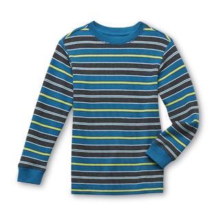 Toughskins Boy's Long-Sleeve Thermal T-Shirt - Striped