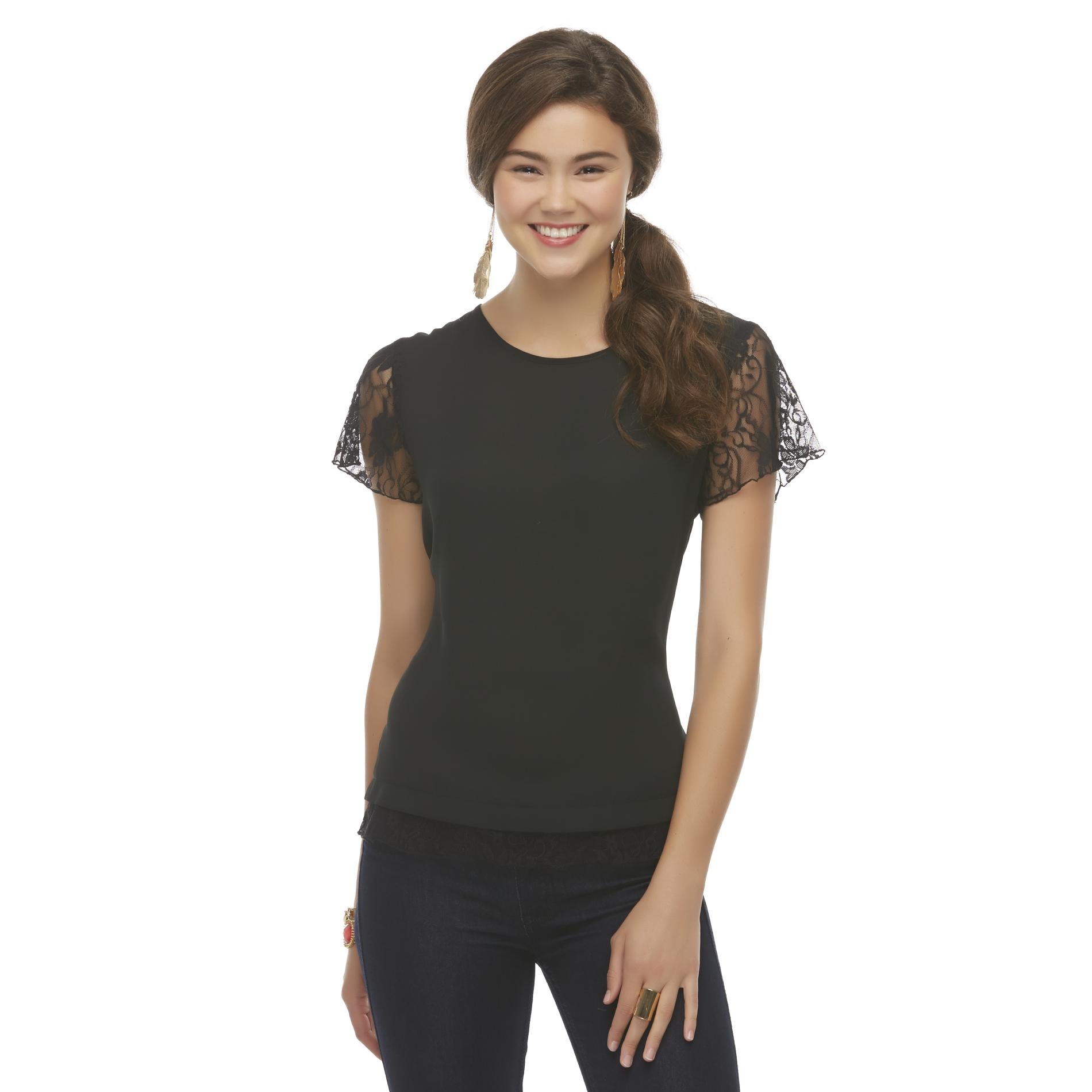Bongo Junior's Chiffon & Lace Top at Sears.com