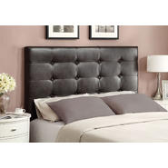 Broyhill Tufted Upholstered Queen Headboard in Bomber Brown at Sears.com
