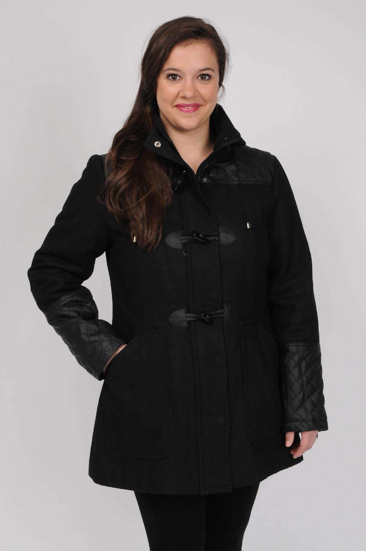 Excelled Ladies Wool Toggle Coat- Online Exclusive