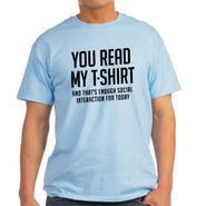 CafePress Men's T-shirt 'Social Interaction'- Online Exclusive at Kmart.com