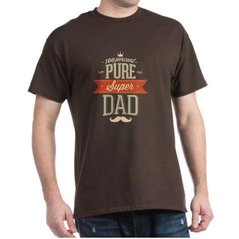 CafePress Men's 100 Percent Pure Super Dad  T-Shirt - Online Exclusive at Kmart.com