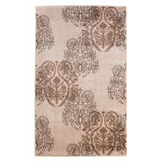 """Linon Milan Collection Ivory Brown 5' x 7'7"""" at Sears.com"""
