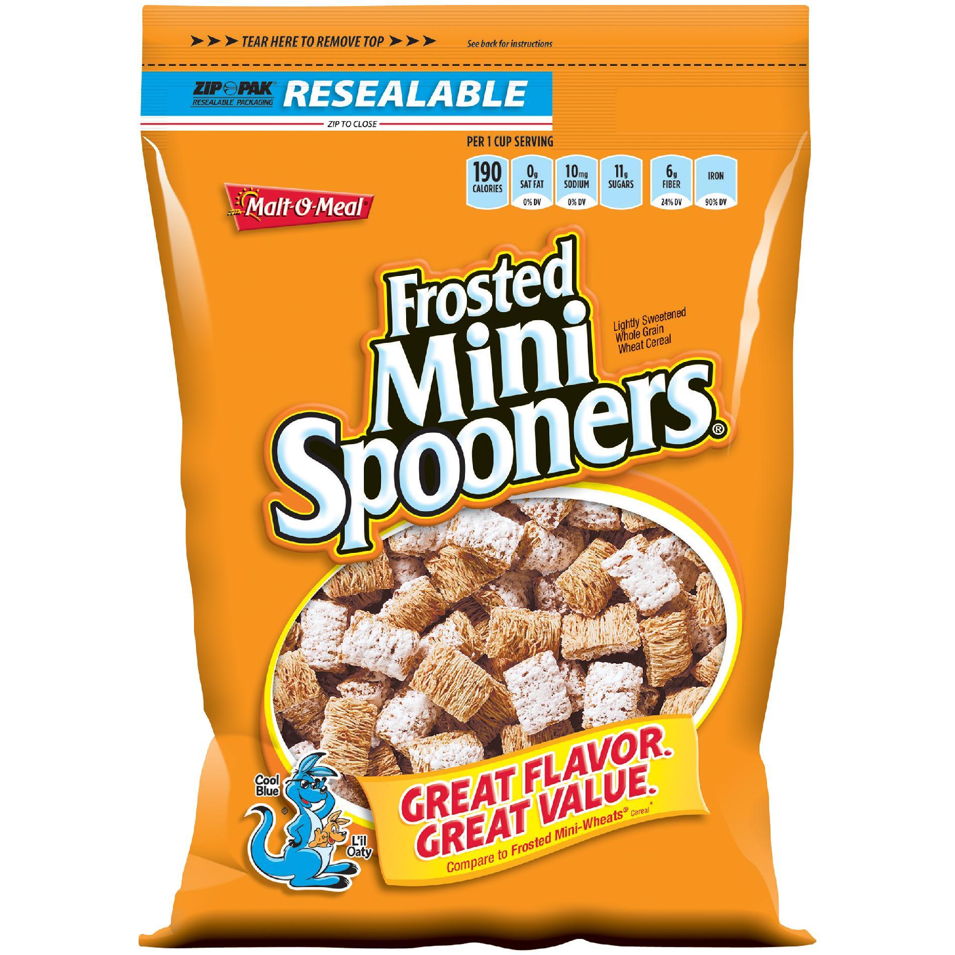 Malt-O-Meal Frosted Mini Spooner Cereal, 15 oz at mygofer.com
