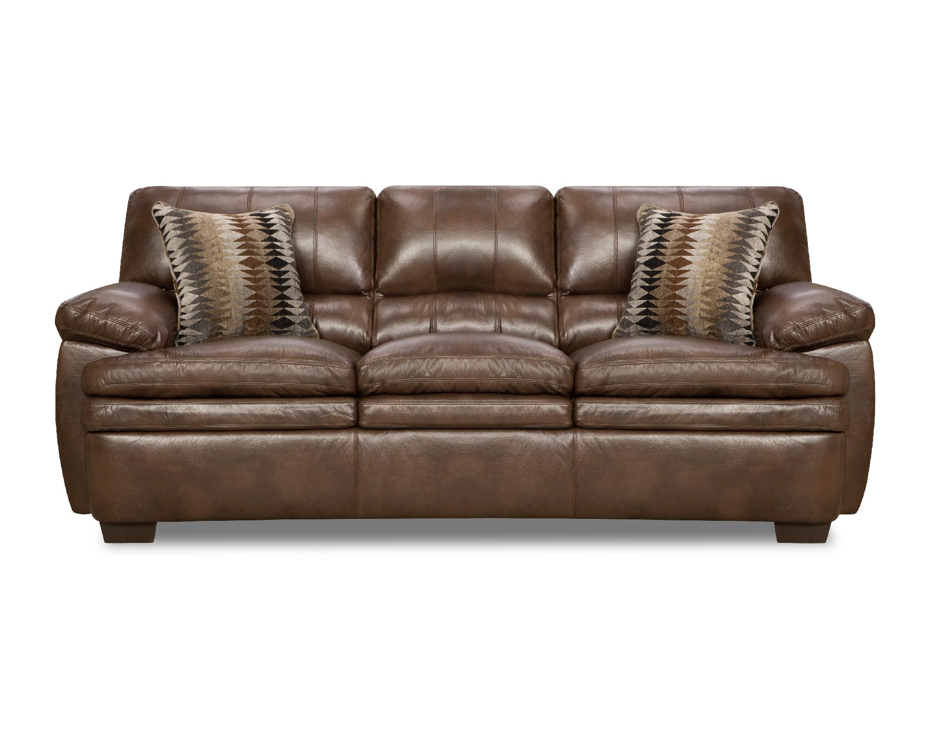 Simmons Three Cushion Split Back Editor Arm Sofa Sears
