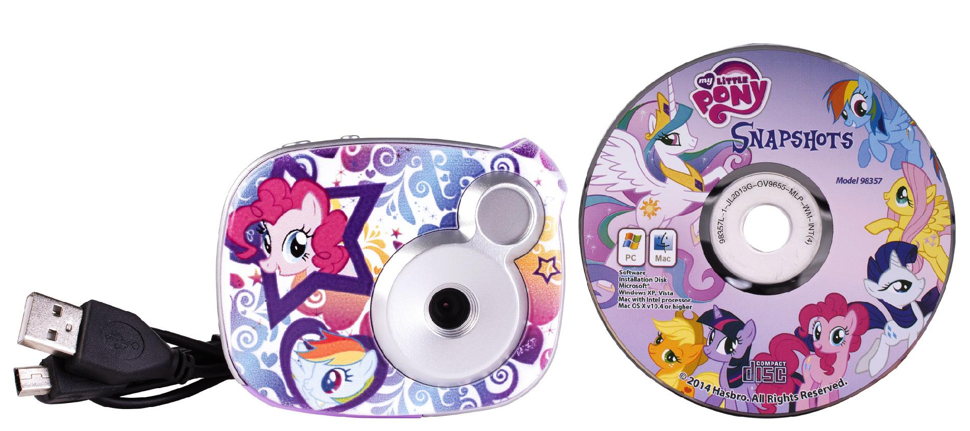 My Little Pony 2.1 MP Digital Camera with 1.5