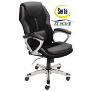 Serta at Home Black Executive Office Chair at Sears.com