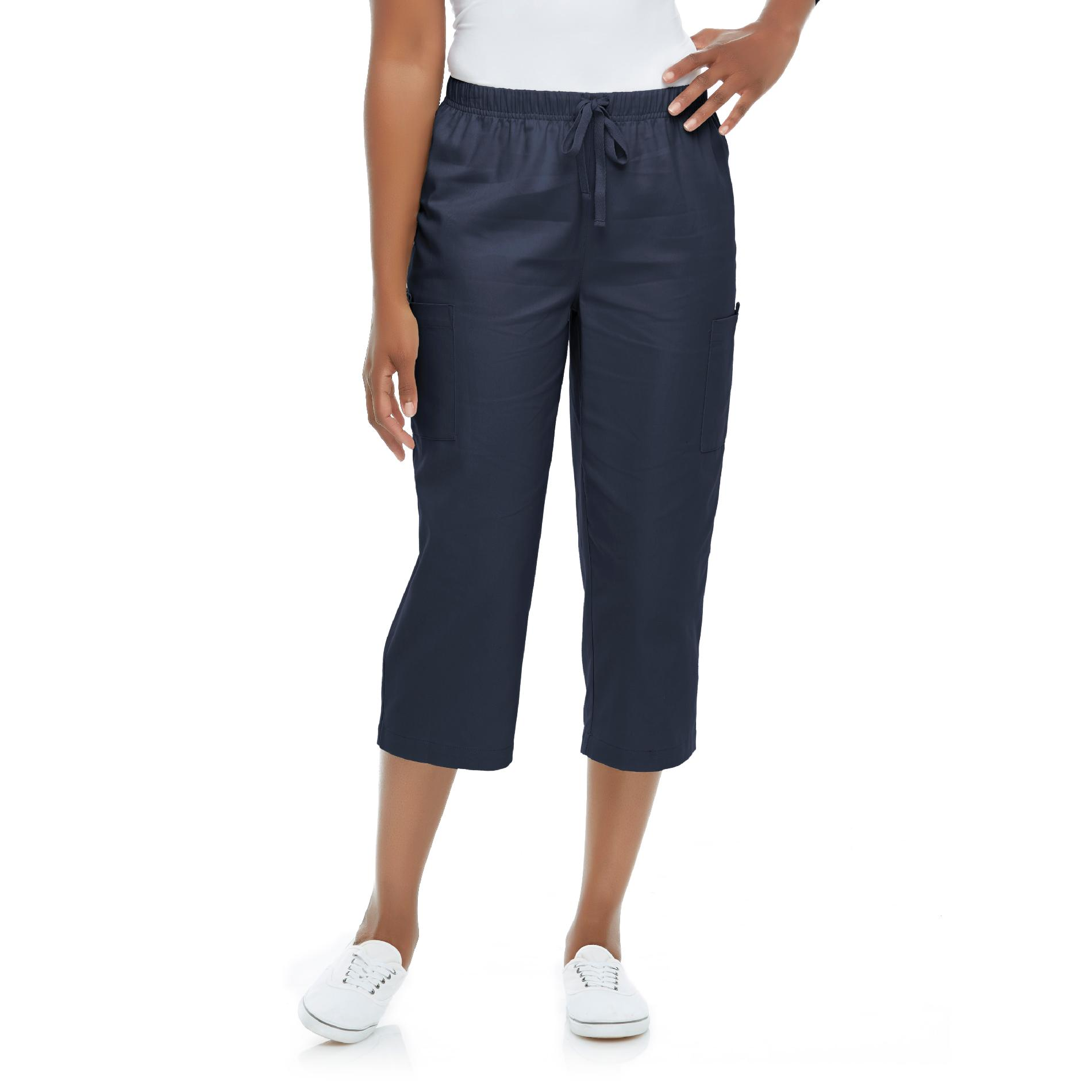 Basic Editions Women's Twill Capri Pants at Kmart.com