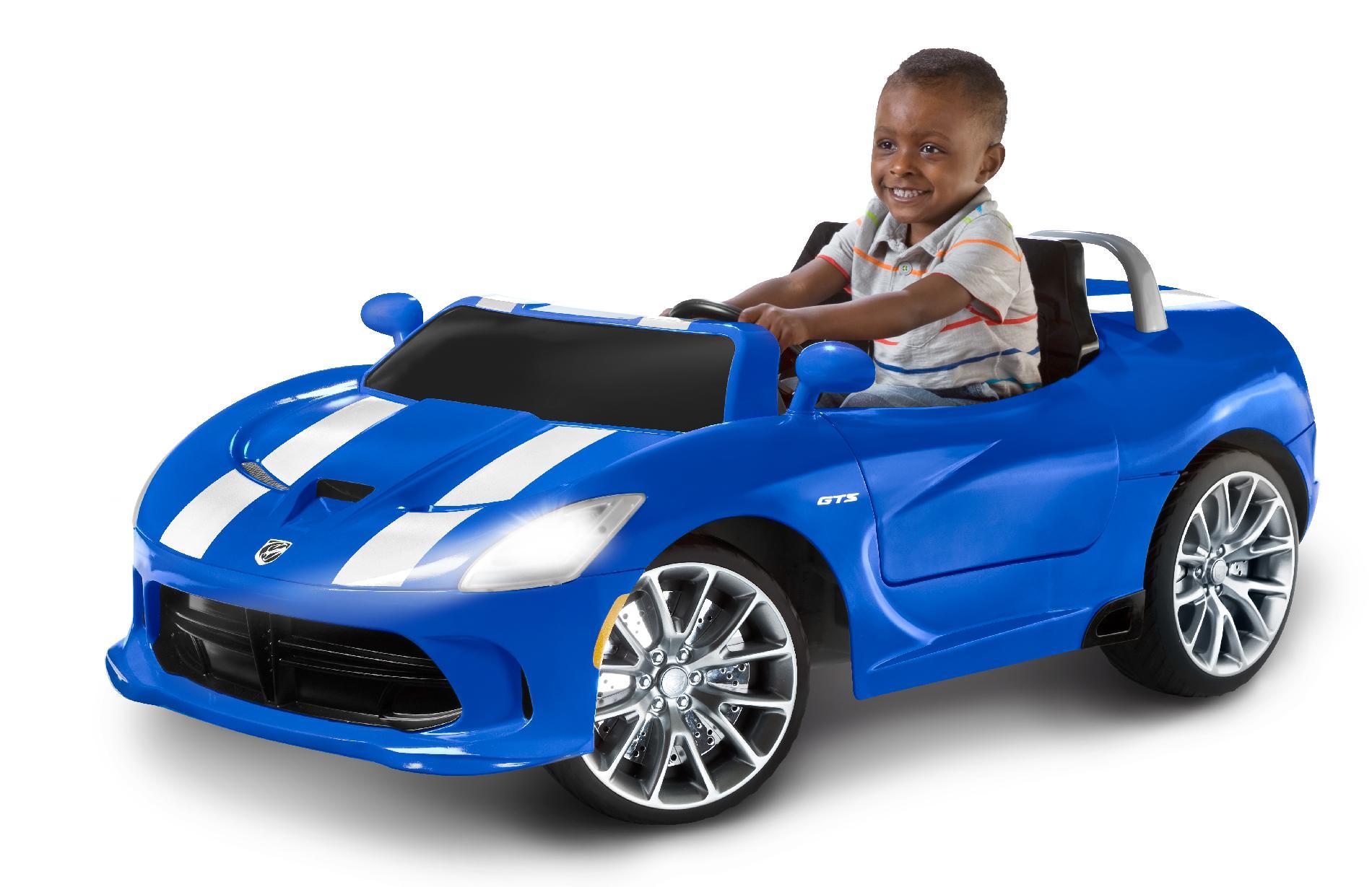 KidTrax Blue Dodge Viper SRT 12V Car