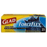 Glad Drawstring Force Flex Outdoor 30 Gallon Trash Bags 25 Count at Kmart.com