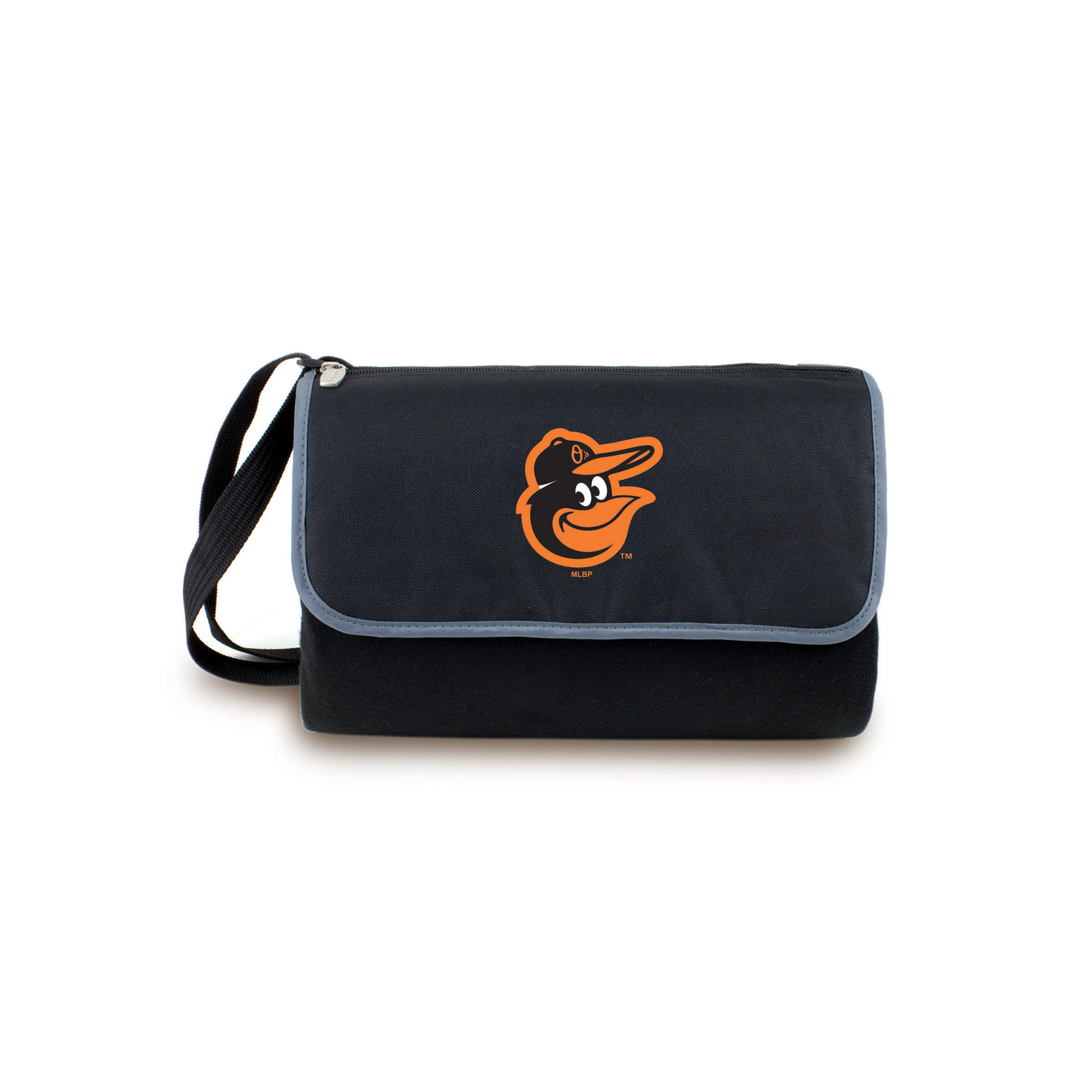 Image of Picnic Time Baltimore Orioles Blanket Tote Outdoor Picnic Blanket, storm
