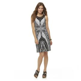 Studio 1 Women's Sleeveless Printed Dress at Sears.com