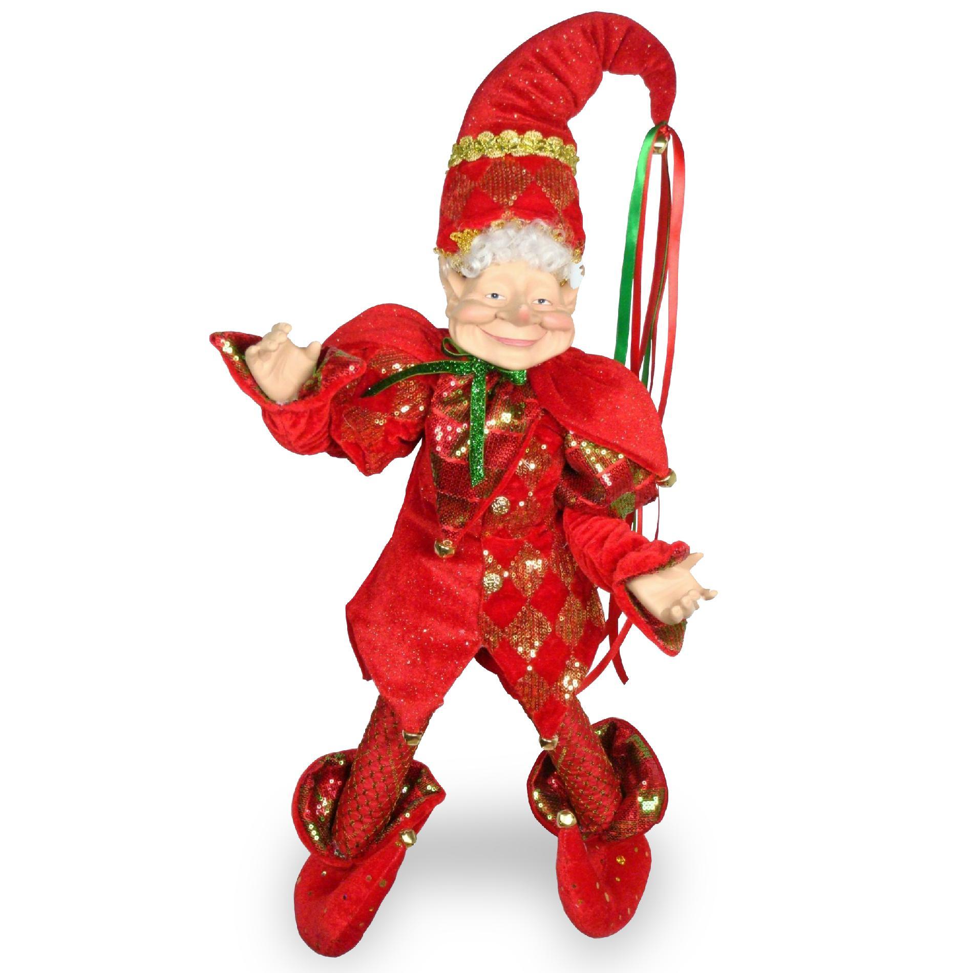 """National Tree Company 22"""" Plush Collection Santa's Elf PartNumber: 07130496000P KsnValue: 07130496000 MfgPartNumber: TP-EF142215"""