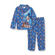 Disney Baby Mickey Mouse Infant & Toddler Boy's Pajama Shirt & Pants - Football at Kmart.com