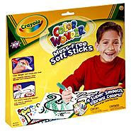 Crayola Color Wonder Mess-Free Soft Sticks with Large Coloring Book, 1 kit at Kmart.com