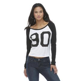Mascara Women's Jersey Crop Top - 90 at Sears.com