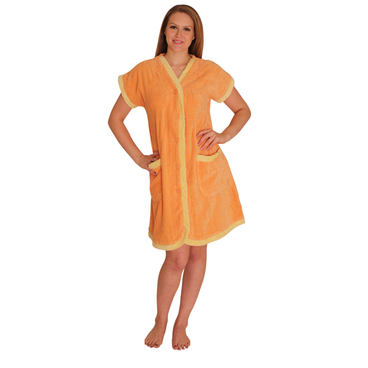 NDK New York Chenille Robe with contrast facing, cuffs and pockets-by NDK New York at Kmart.com