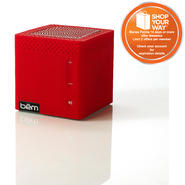 BEM WIRELESS Mobile Bluetooth Speaker - Red at Kmart.com