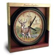 American Wall Clock - Whitetail Deer at Sears.com