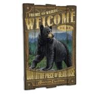 American Black Bear Wooden Cabin Sign at Kmart.com