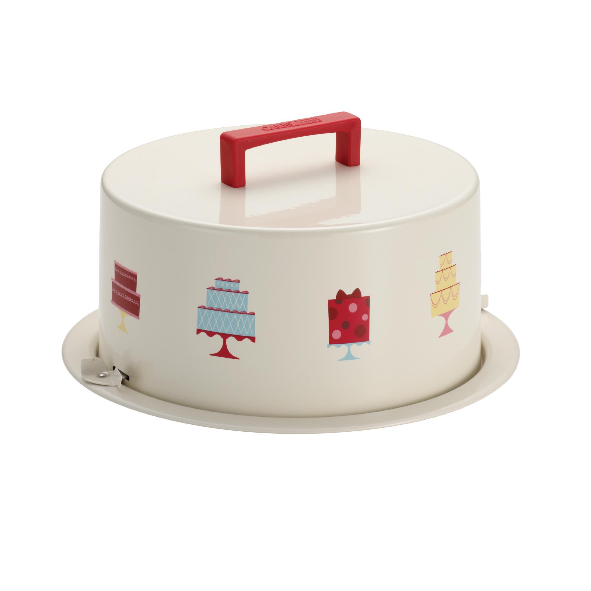 Cake Boss Serveware Metal Cake Carrier,