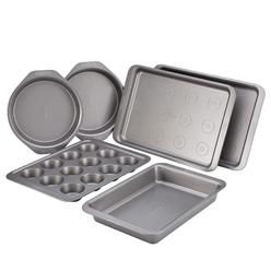 Cake Boss Basics Nonstick Bakeware 6-Piece Bakeware Set, Gray at Kmart.com